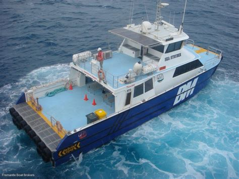 Aluminium Fishing Boats For Sale Perth by Catamaran Jet Utility Transfer Vessel Commercial