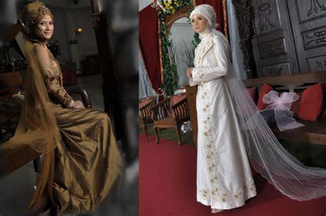 kebaya muslim pengantin  akad nikah