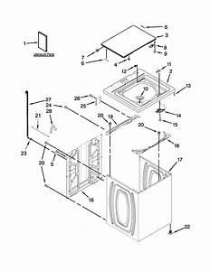 Roper Rtw4641bq1 Washer Parts