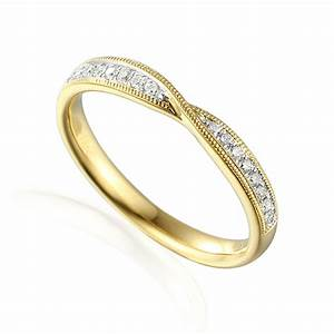 Jewellery rings wedding shaped 18ct yellow gold for Gold twist wedding ring