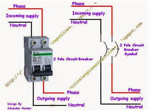 How Wire Double Pole Circuit Breaker Electrical