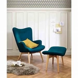 17 meilleures idees a propos de fauteuil bleu canard sur With tapis yoga avec canapé vintage scandinave
