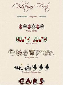 15 Microsoft Word Downloadable Christmas Fonts Images ...