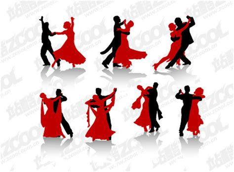 vector graphic dance figures  pictures graphic hive