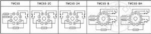 Tmc5s Dh48s H5cn Tmcon Din 48 48mm Led Display Digital