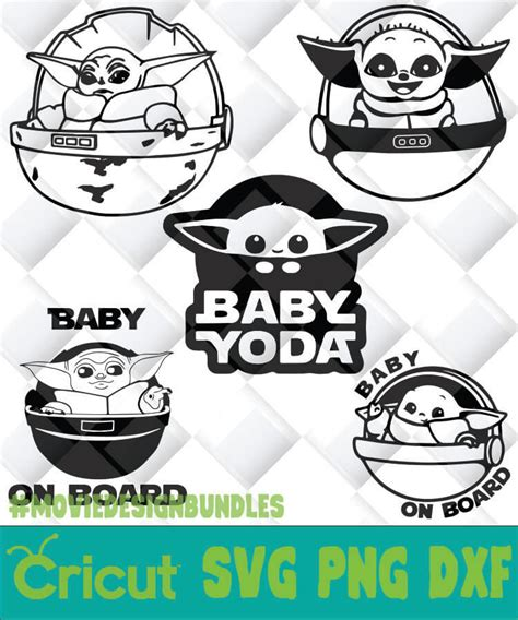 Wedding outline icon vector set ai svg. BABY YODA ON BOARD OUTLINE SVG, PNG, DXF, CLIPART FOR ...