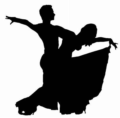 Ballroom Silhouette Dancing Transparent Clipart Dancer Dance