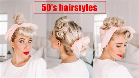 Simple 50s Hairstyles by Four 50 S Hairstyles Poodle Skirt Costume Ideas For