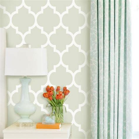 Moroccan Green Removable Wallpaper Pinknbluebabycom
