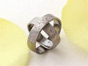 our damascus weddingrings by ugrik on deviantart With damascus wedding ring