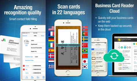 9 Business Card Scanner And Organizer Apps For Iphone And