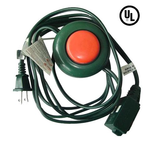 christmas tree cord three outlet tree extension cord with footswitch purchasing souring ecvv