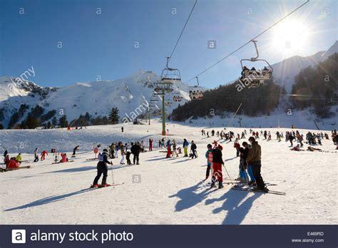 le mont dore ski resort massif du sancy auvergne