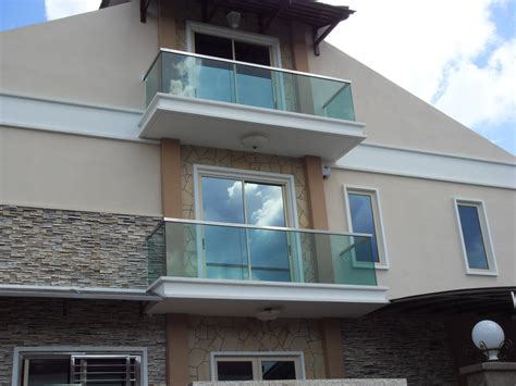 Glass Balcony Designs Pictures Luxury House With Exterior
