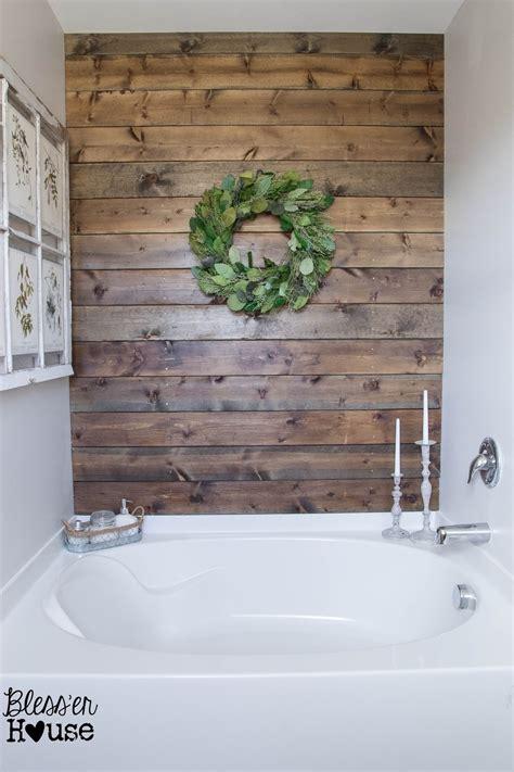 plank wall bathroom favorite shiplap and plank walls eva ennis creative
