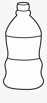Bottle Water Template Empty Clipart Templates Coloring Pages sketch template
