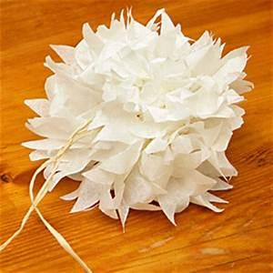 Fleur En Papier De Soie : pivoine en papier de soie masking tape et papier cadeau ~ Nature-et-papiers.com Idées de Décoration