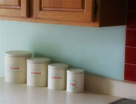 Martha Stewart Kitchen Canisters by Martha Stewart Paint
