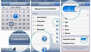 Application Utile Iphone : pratique ios partager ou rendre un calendrier public depuis l 39 iphone ou l 39 ipad ~ Medecine-chirurgie-esthetiques.com Avis de Voitures