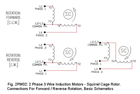 Phase Motor Drawings Ecn Electrical Forums