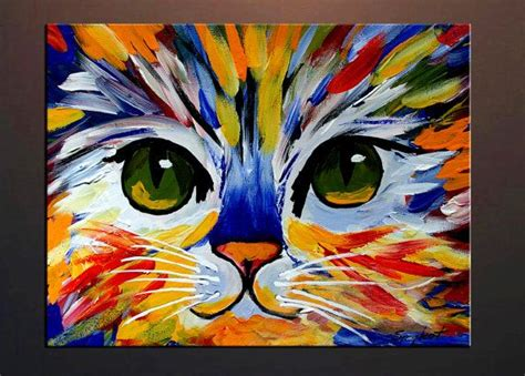 Abstract Black Cat Painting by Best 25 Cat Ideas On Black Cat