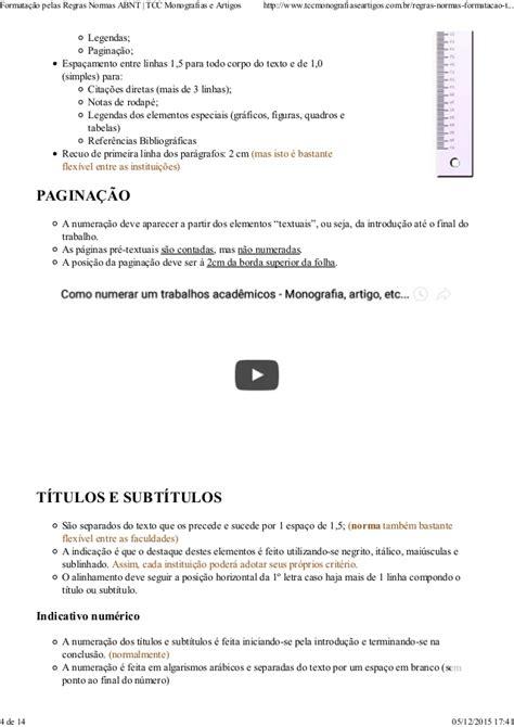 normas abnt formatando citações diretas longas formatação pelas regras normas abnt tcc monografias e artigos