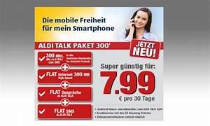 Aldi Talk Abrechnung : aldi talk paket 300 inklusiv paket mit flat f r 7 99 euro connect ~ Themetempest.com Abrechnung