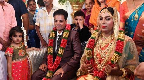 transgender kerala marriage surya couple india transsexual ishan indian trans transgenders witnesses become actor beyond self member indianexpress