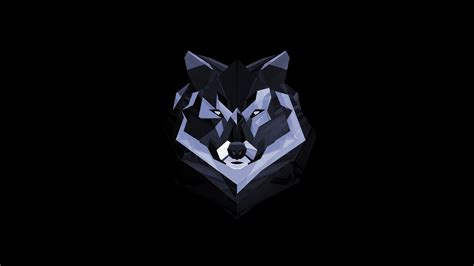 abstract wolves wallpaper