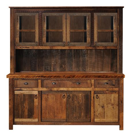 Hutch And Buffet by Barnwood 75 Quot Buffet And Hutch With Traditional Oak