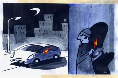 keeping  car safe  electronic thieves   york times