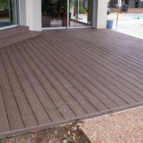terrasse ext 233 rieure en bois composite wood chop
