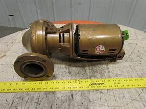 Bell  U0026 Gossett B37ta79 3 U0026quot Pd Flanged Bronze In 4hp 3ph M80039