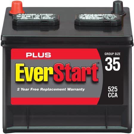 everstart  automotive battery group size