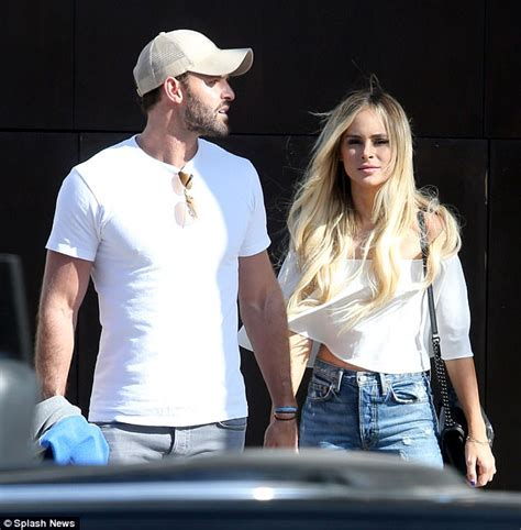 Robby Hayes and Amanda Stanton seen holding hands in LA