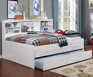 White, Full, Bookcase, Daybed, U2013, All, American, Furniture, U2013, Buy, 4, Less, U2013, Open, To, Public