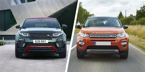 range rover evoque  land rover discovery sport carwow