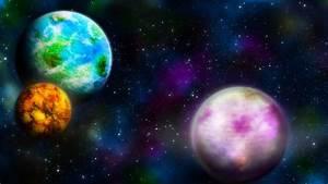 Wallpaper space planet star galaxy nebula sci fi awesome 286