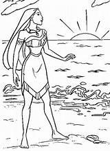 Sunrise Coloring Pocahontas Pages Coloriage Imprimer Printable Pierre Lune Clochette Et Colouring Beach Disney Dessins Colorier Designlooter Sun Sunset Sheet sketch template