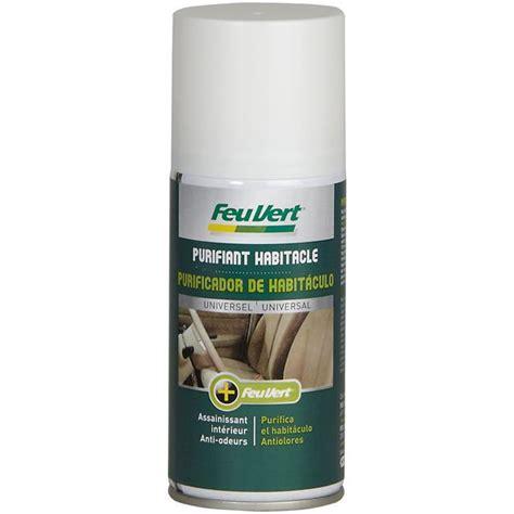 produit pour nettoyer siege voiture purifiant habitacle feu vert 150 ml feu vert