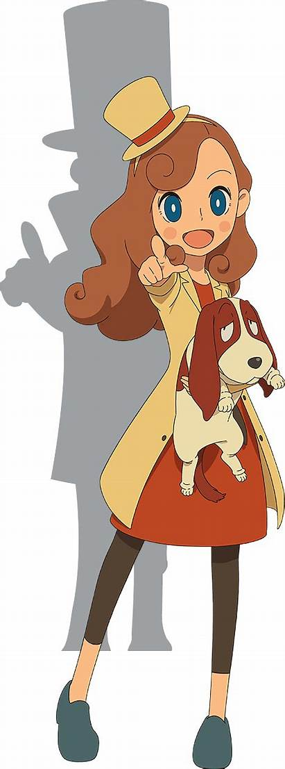 Layton Mystery Detective Agency Anime Solving Kat