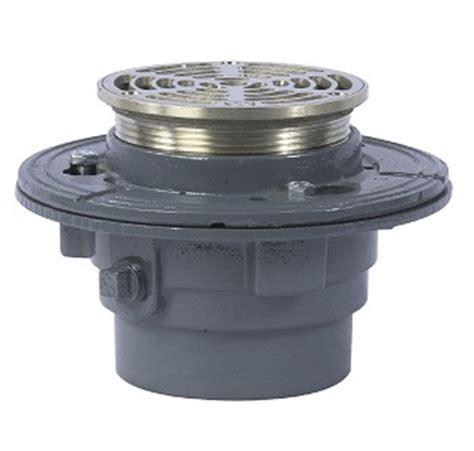watts fd 100 a5 floor drain 5 in nb top strainer
