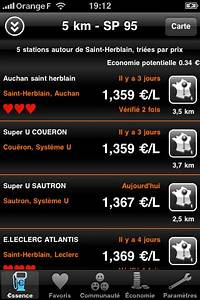 Application Station Essence : ssence l appli iphone pour conomiser du carburant blog du high tech ~ Medecine-chirurgie-esthetiques.com Avis de Voitures