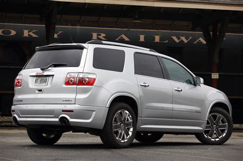 gmc acadia denali  drive photo gallery autoblog