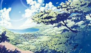 Nature Anime Scenery Background Wallpaper | atelier ...