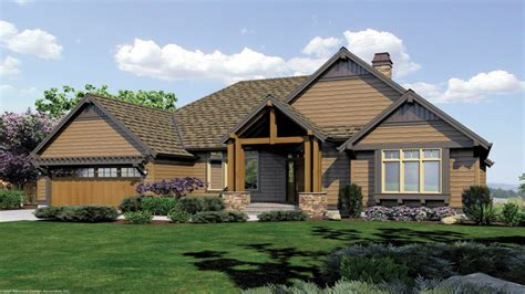 craftsman style house plans single story craftsman house