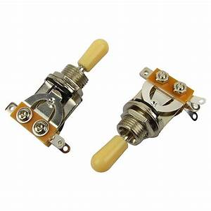 Musiclily 3 Way Short Straight Pickup Toggle Switch For