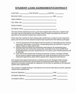 10 student contract samples templates pdf doc With student contracts templates