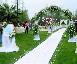 Tapis Blanc Mariage : blanc de mariage tapis coureur 1 5 m tre largeur par 20 ~ Teatrodelosmanantiales.com Idées de Décoration