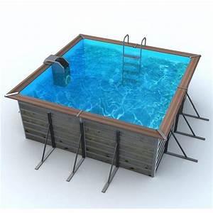 Piscine Center Avis : piscine bois 3x3 petite piscine hors sol bois idea mc ~ Voncanada.com Idées de Décoration